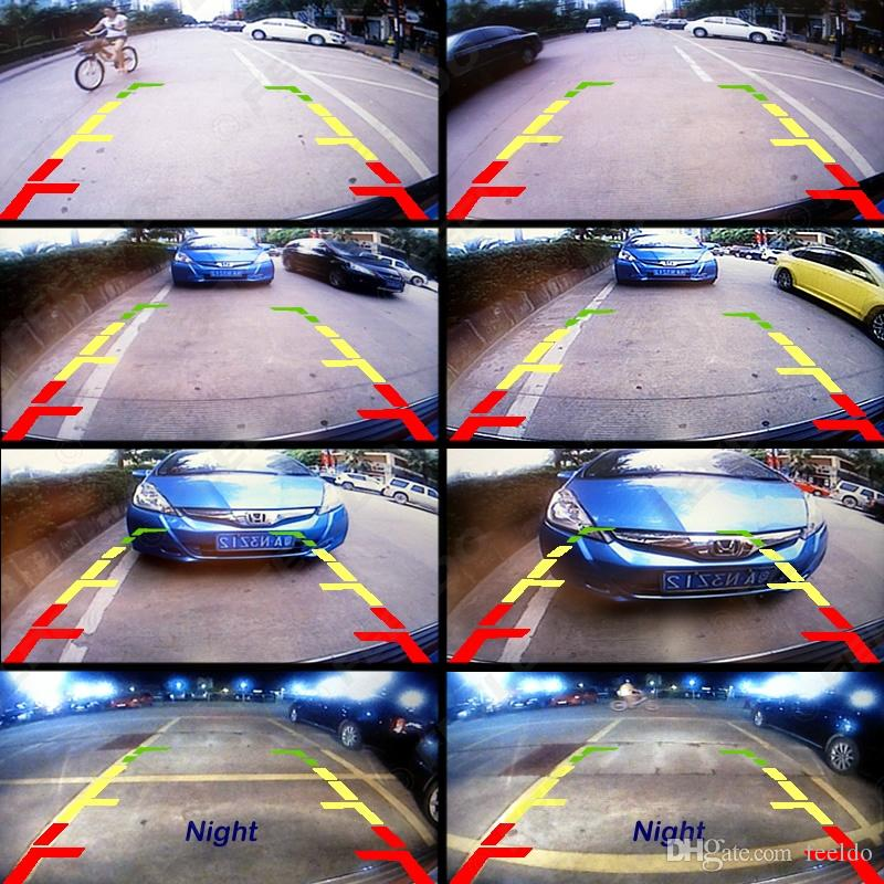 FEELDO Vista Traseira Car Camera Para Volkswagen Passat B7 / Magotan / Golf / Phaeton / Passat CC / Scirocco / Polo / Superb # 4533