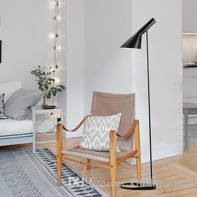 2017 Post Moderndesign Louis Poulsen Arne Jacobsen Aj Floor Lamp  Black/White Metal Stand Light For Living Room/Bedroom E27 Led Bulb From  Kidskingdom, ... Part 95
