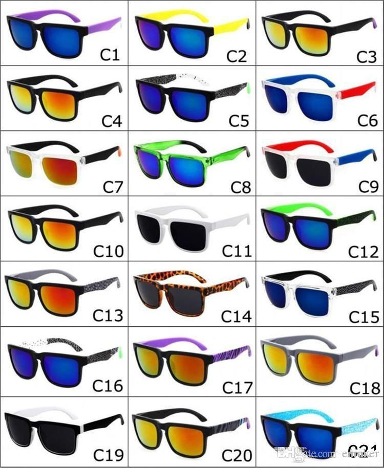 2017 marca designer spied ken bloco elmo óculos de sol da moda ostenta óculos de sol oculos de sol óculos de sol eyeswearr 21 cores unisex óculos