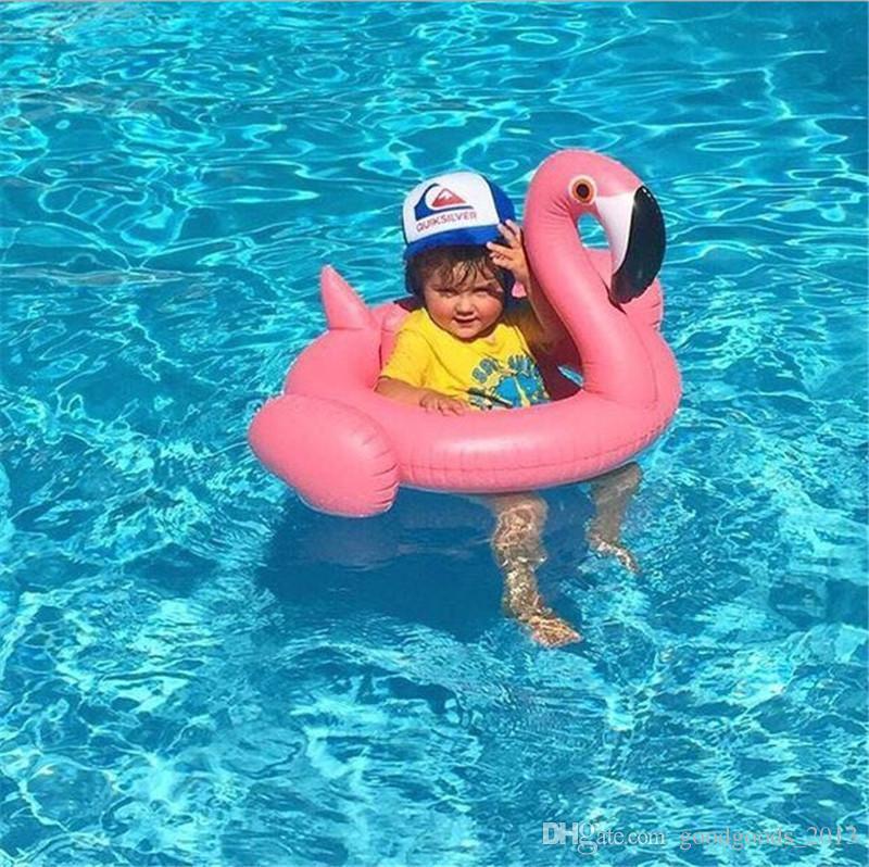 Aufblasbare Schwimmring Flamingo Swan Pool Luftmatratze Float Spielzeug Wasser Spielzeug für Kinder Baby Infant Schwimmring Pool Zubehör