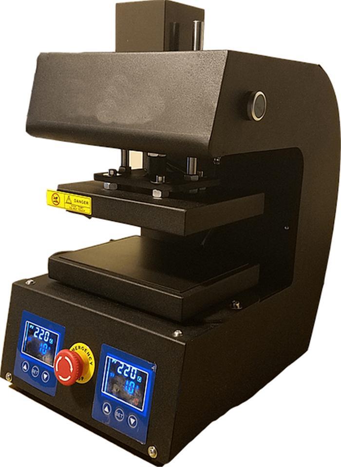 2017 el más nuevo tipo máquina de prensa de colofonia PURE ELECTRIC Auto placas de calor dual colofonia prensa de calor máquina con panel LCD