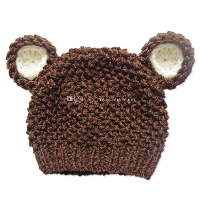 Compre Adorável Marrom Teddy Bear Hat e27b64ddd59
