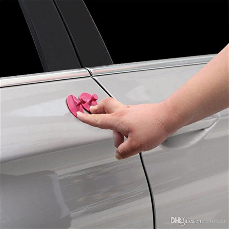 10 Pçs / set Guias de Cola Remoção Dent Remendo Pad Reparação Cola Ferramentas Paintless Dent Removedor Móvel Ferramentas para Carro Dent Dano Demônios