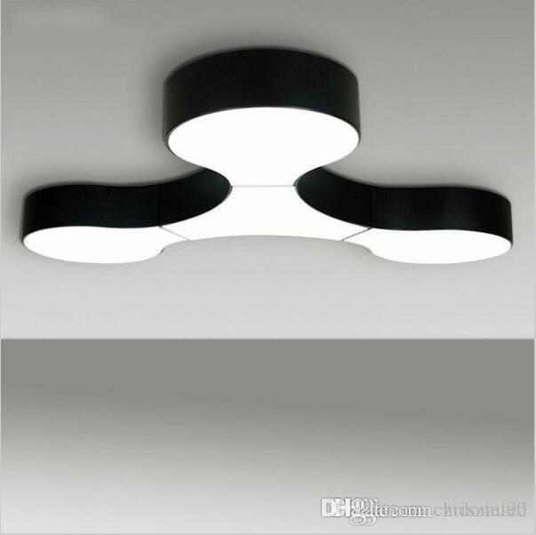 Wholesale Modern Ceiling Lamp Massive Project Free Combination Lamps Black  White Custom Fixtures Modern Molecular Link Led Lights Home Lighting Decora  By ...
