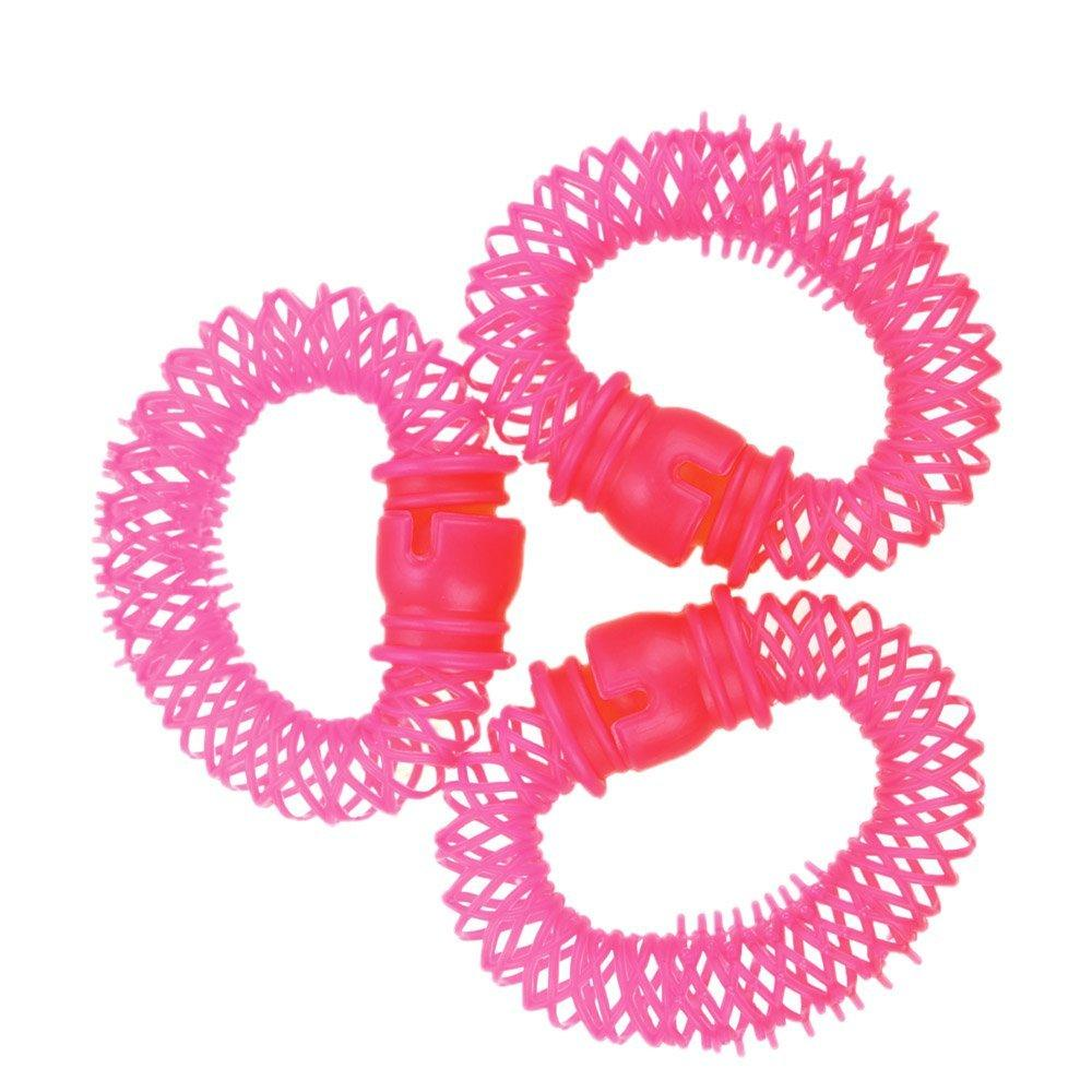 Wholesale- Best Sale 8pcs Lucky Donuts Curly Hair Curls Roller Hair Styling Tools Hair Accessories Magic Spiral Ringlets Circles