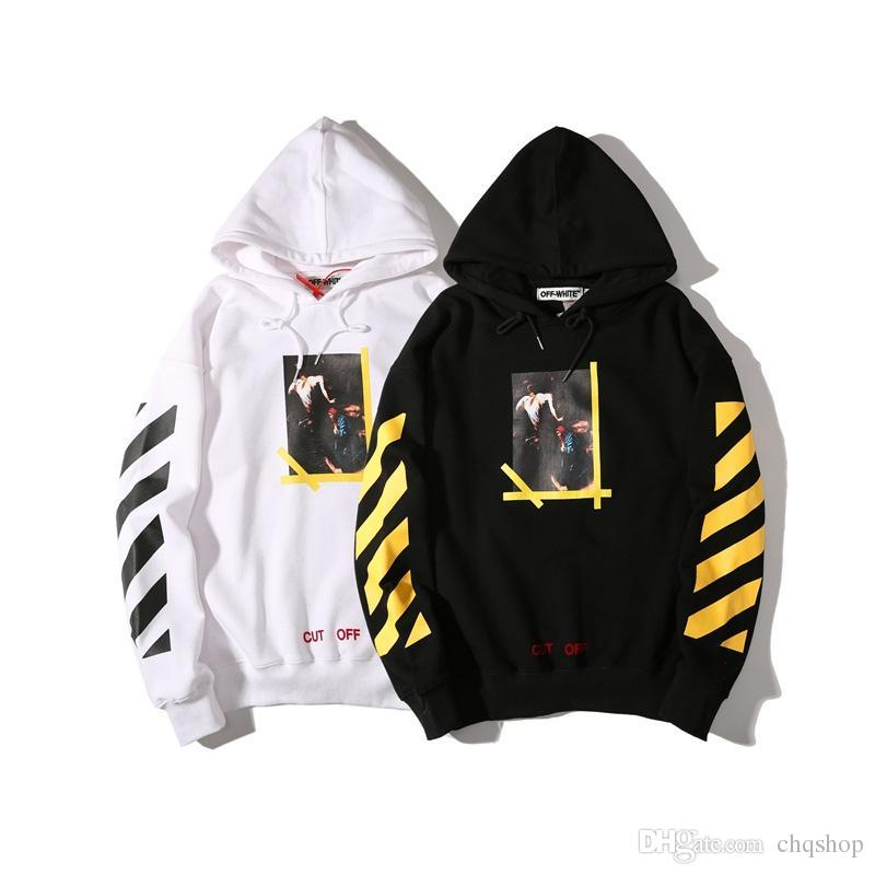 Best And Cheapest Mens Hoodies  Sweatshirts Off White Hoodies Religious  Virgil Abloh Harajuku Sweatshirts Men Women Fashion Brand Kanye Hip Hop  Skateboard ...