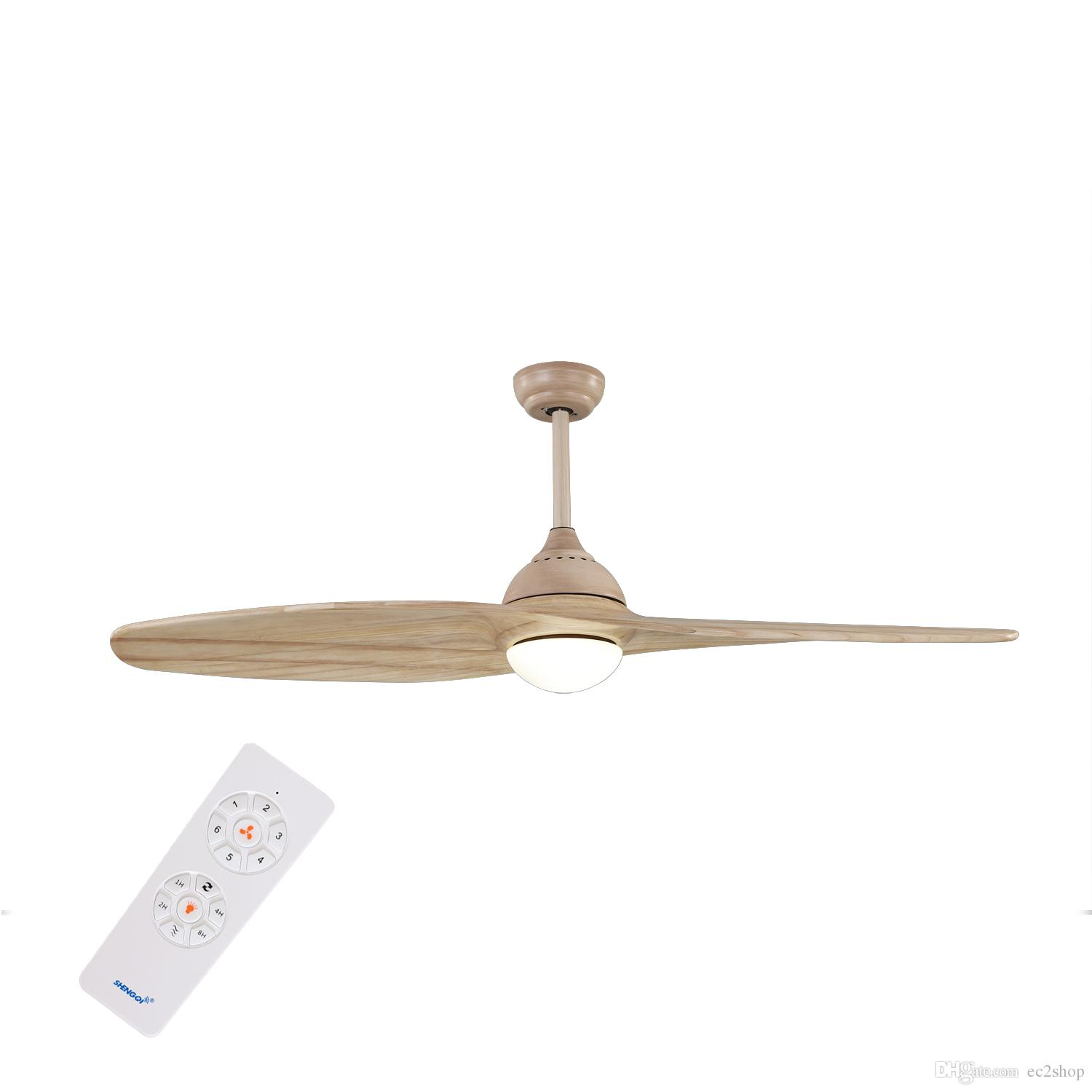 2018 2 Blade Ceiling Fan With Light And Remote Control Ac Dc 54 Inch For Bedroom Living Room On From Ec2 12 07 Dhgate Com