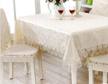 LY ZBL15 Home Textiles Square Retangle Round Lace Table Cloth Table Cover Table  Runner Wedding Gift Dining Room Table Covers Tablecloths For Round Tables  ...