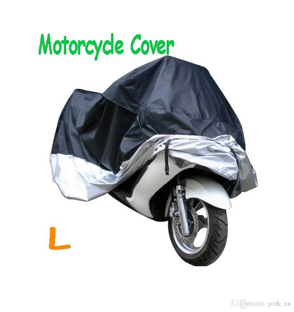 HOT Motorcycle Bike Moped Scooter Cover Dustproof Waterproof Rain UV  resistant Dust Prevention Covering Size L 220*95*110cm ATP07
