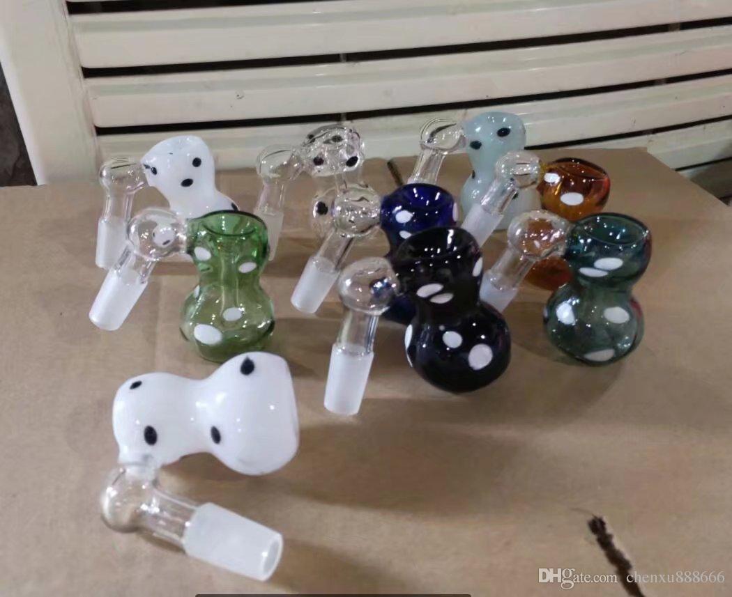 Accessori bong punto spina zucca, Bruciatore a olio unico Tubi di vetro Bong Tubi acqua Tubo di vetro Rigs olio Fumo con contagocce
