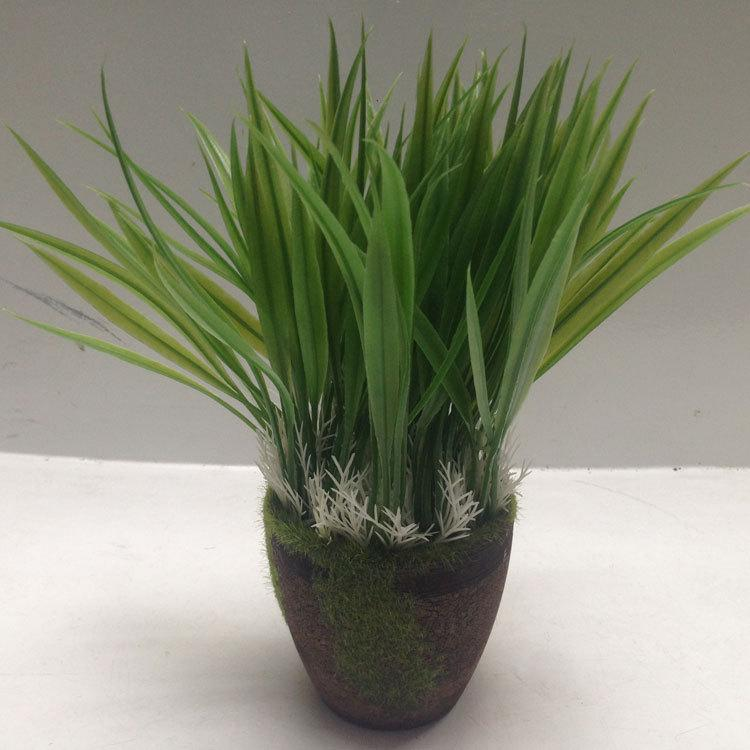 2018 Artificial Plants, Faux Plastic Wheat Grass Fake Leaves Shrubs  Simulation Greenery Bushes Indoor Outside Home Garden Office Vera From  Daisy433, ...