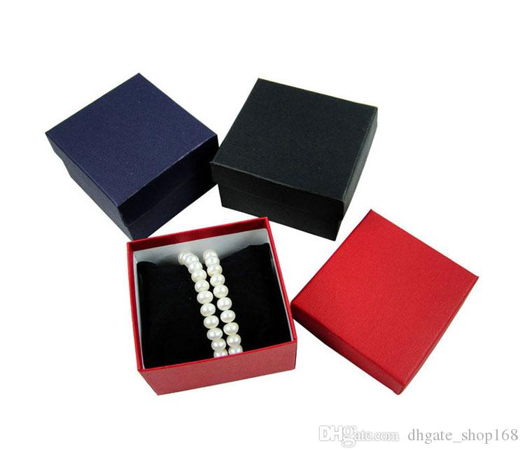 Cassa durevole della scatola di regalo della presentazione le scatole di orologio dei gioielli del braccialetto del braccialetto del braccialetto Scatola di orologio di carta
