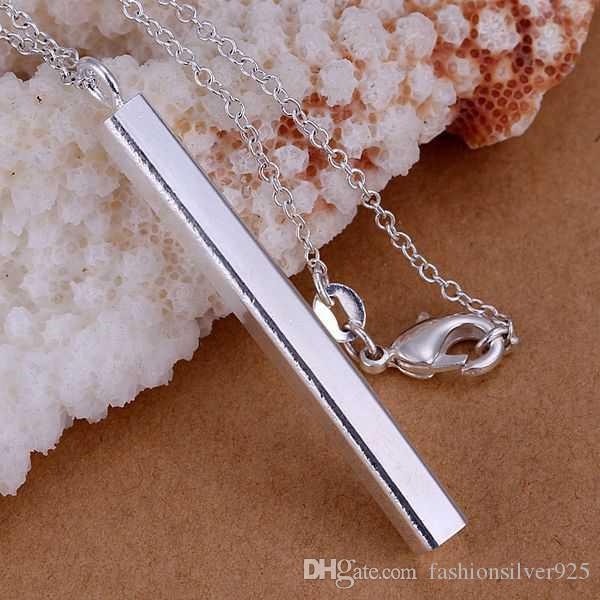 Wholesale - - Retail lowest price Christmas gift 925 silver Necklace+Earrings set S134