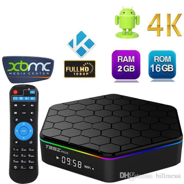 Sunvell T95Z Plus TV Box TV Android 2GB 16GB Smart Box Amlogic S912 Octa  Core 4K x 2K H 265 Decoding 2 4G 5G Dual Band WiFi Media Player B