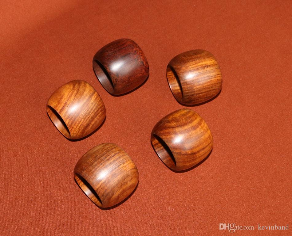 legno parti di arredo tavola Accessori Home Decor mestiere lucidatura autentica Laos naturale Siam palissandro portatovagliolo