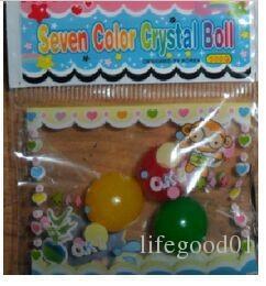 April Du Большой размер 12мм Orbeez Water gun bullet. Водные шарики био-гелевый шарик. Кристаллическая почва. Творческая библейская игрушка-пистолет