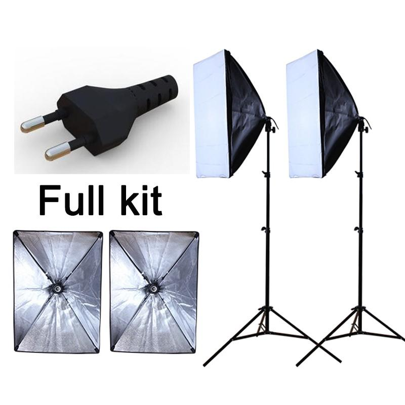 2018 Wholesale Photography Studio Soft Light Reflective Material Softbox Light Kit Continuous Lighting Softboxes European Power Supply From Teresar ...  sc 1 st  DHgate.com & 2018 Wholesale Photography Studio Soft Light Reflective Material ...