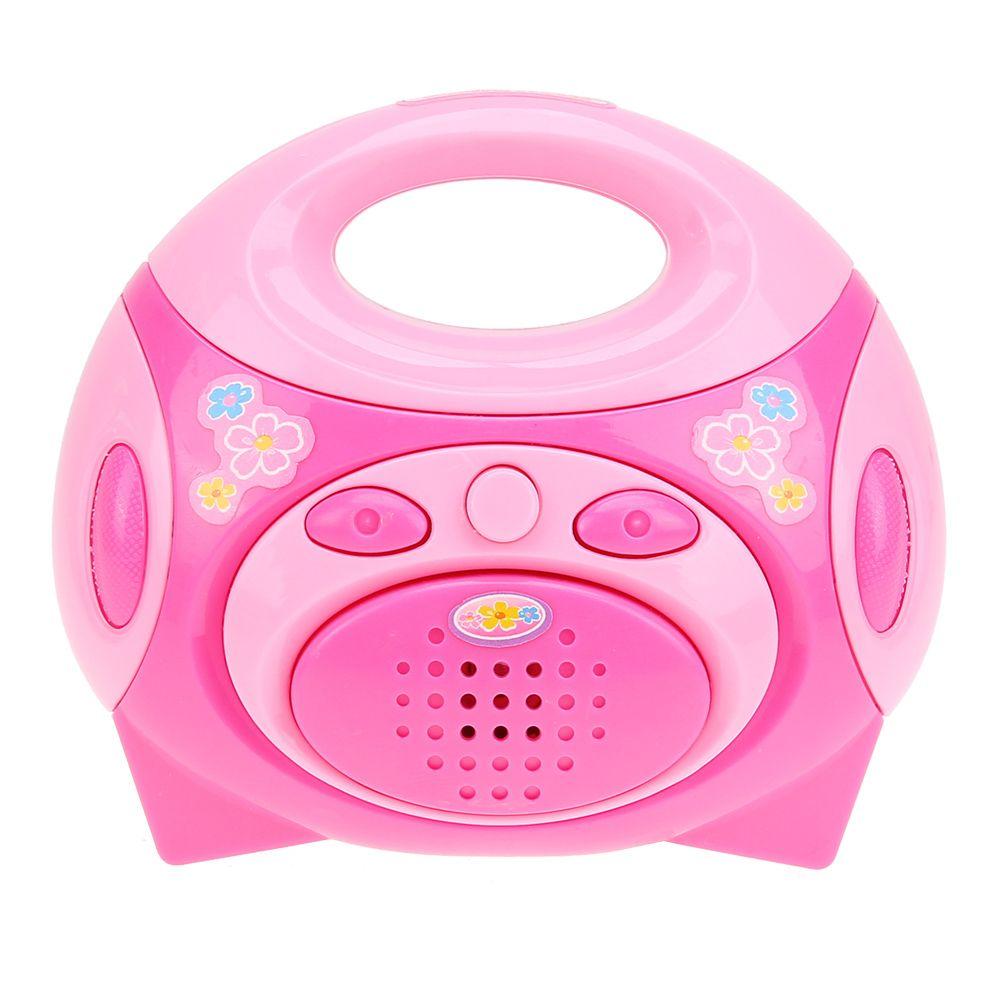 Großhandel Großhandels Mini Baby Spielzeug Rosa Kunststoff Radio ...