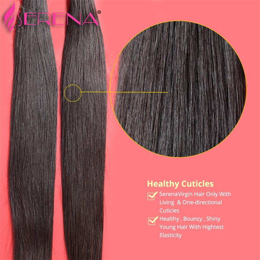 Top Best Quatily 30 Inch Brazilian Hair Extensions Silk Straight 3 Bundles Unprocessed Weave Human Hair 8A Remy Crochet Braids Hairs Weaves