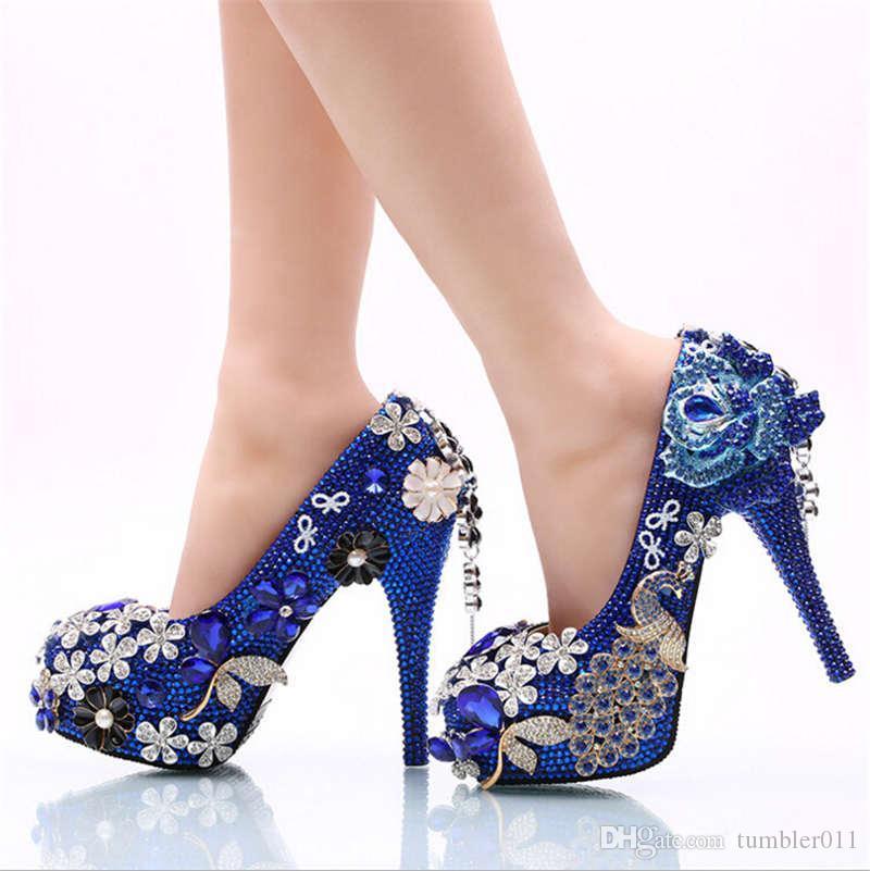 Satın Al Kadın Düğün Ayakkabı Yüksek Topuklu Ayakkabılar Topuklu 11
