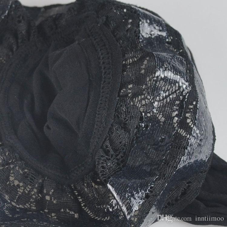 Anti-Rutsch-Silikon-Band Spitze Top hauchdünn Nylonstrümpfe Frauen transparent sexy Oberschenkel hohen Strumpf heiß