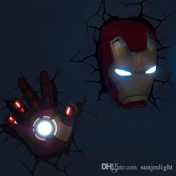 Perfect The Marvel Marvel Iron Man Head And Hand