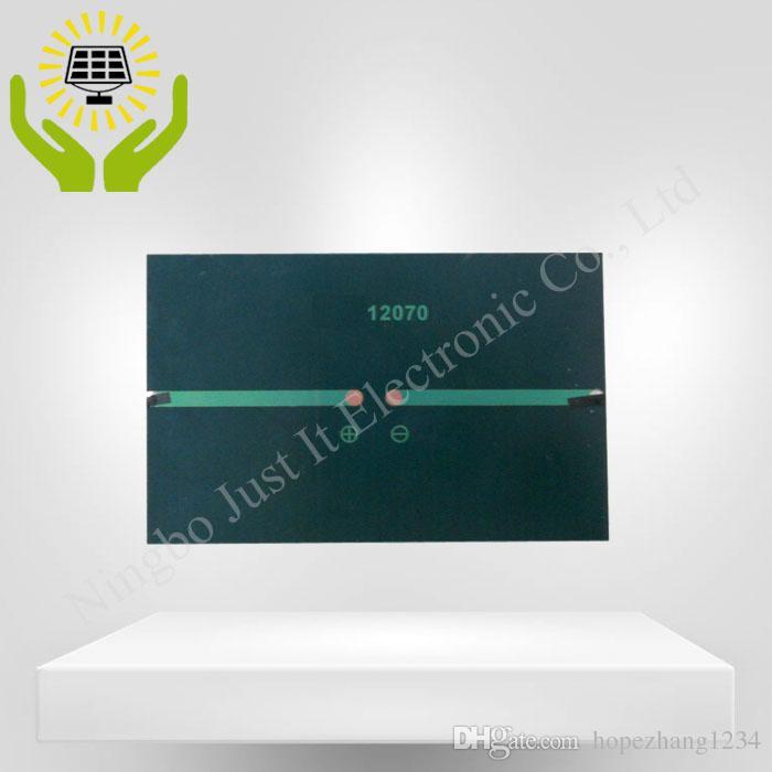 / الايبوكسي لوحة للطاقة الشمسية الصغيرة 5V 200mA 1W 120 * 70mm