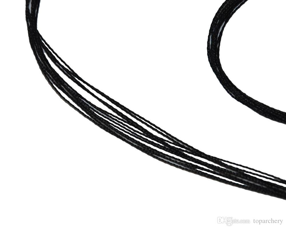 Archery BowString for Replacement Traditional Recurve Hunting Bow String Black Color Archery Bow Accessary Length 111cm-173cm