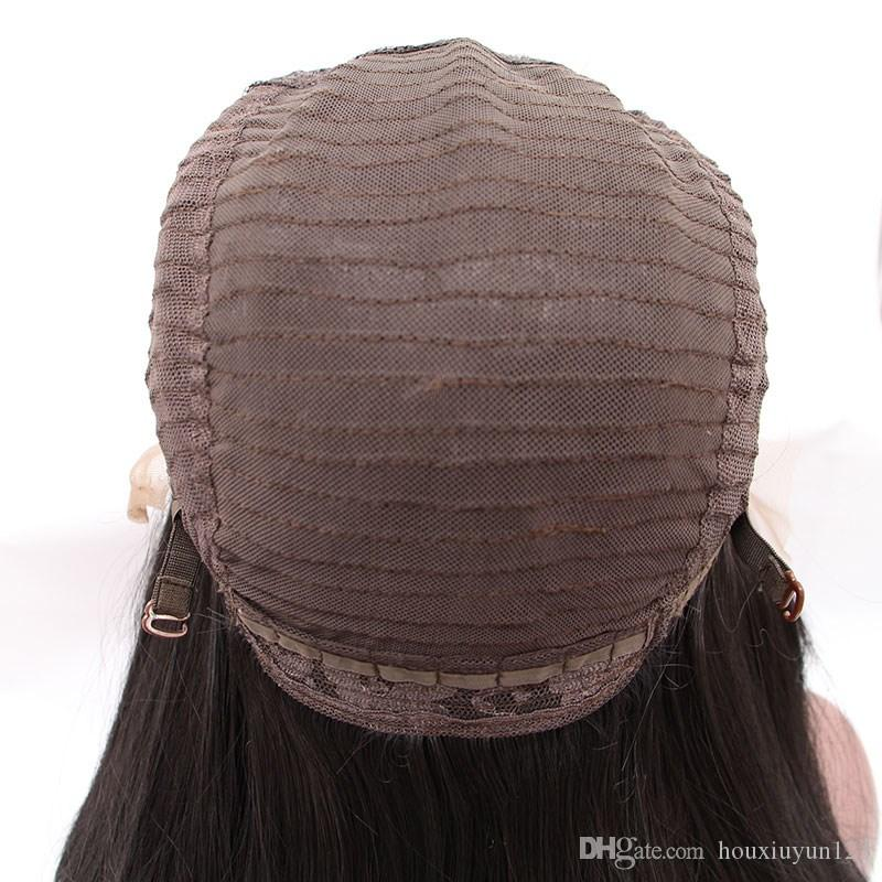 Fashion 2Tone Natural Black Ombre Grey Long Silky Straight Hair Wigs Synthetic Lace Front Wig Heat Resistant Wigs With Baby Hair For Women
