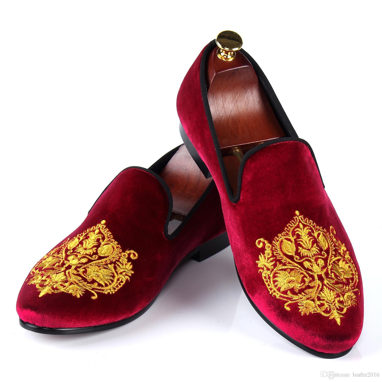 90f274d0177d08 Men S Velvet Loafers Size 13 On Ebay American Go Association