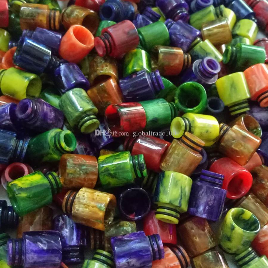 510 Thread Epoxy Resin Drip Tip for SMOK TFV8 Baby Cloud Beast Atomizer E Cigarette RDA RTA Mouthpiece Drip Tips