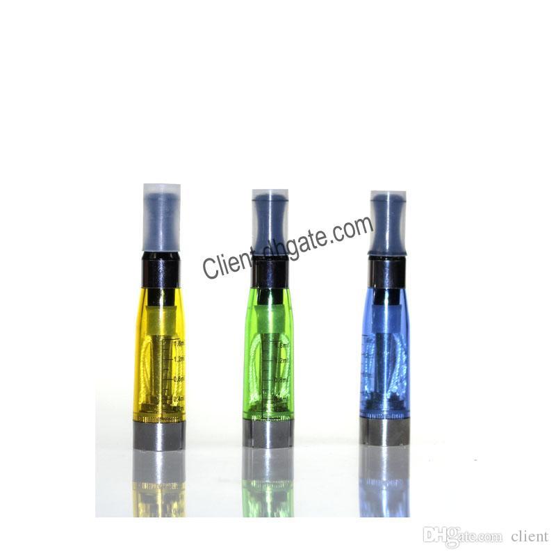 CE4 Atomizer 1.6ml 2.4ohm 4 Wicks No leaking Tank 510 thread for Ego t EVOD Twist Vision Vaporizer Cartridge