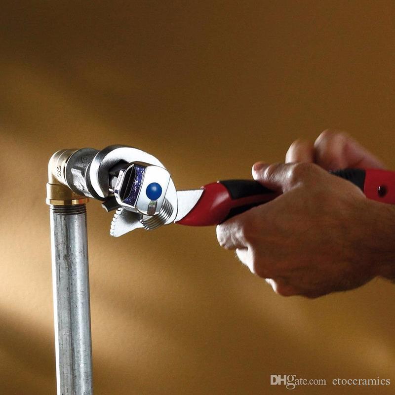 2 stks / set Universele Snel instelbare 9-32mm multifunctionele moersleutelsleutel