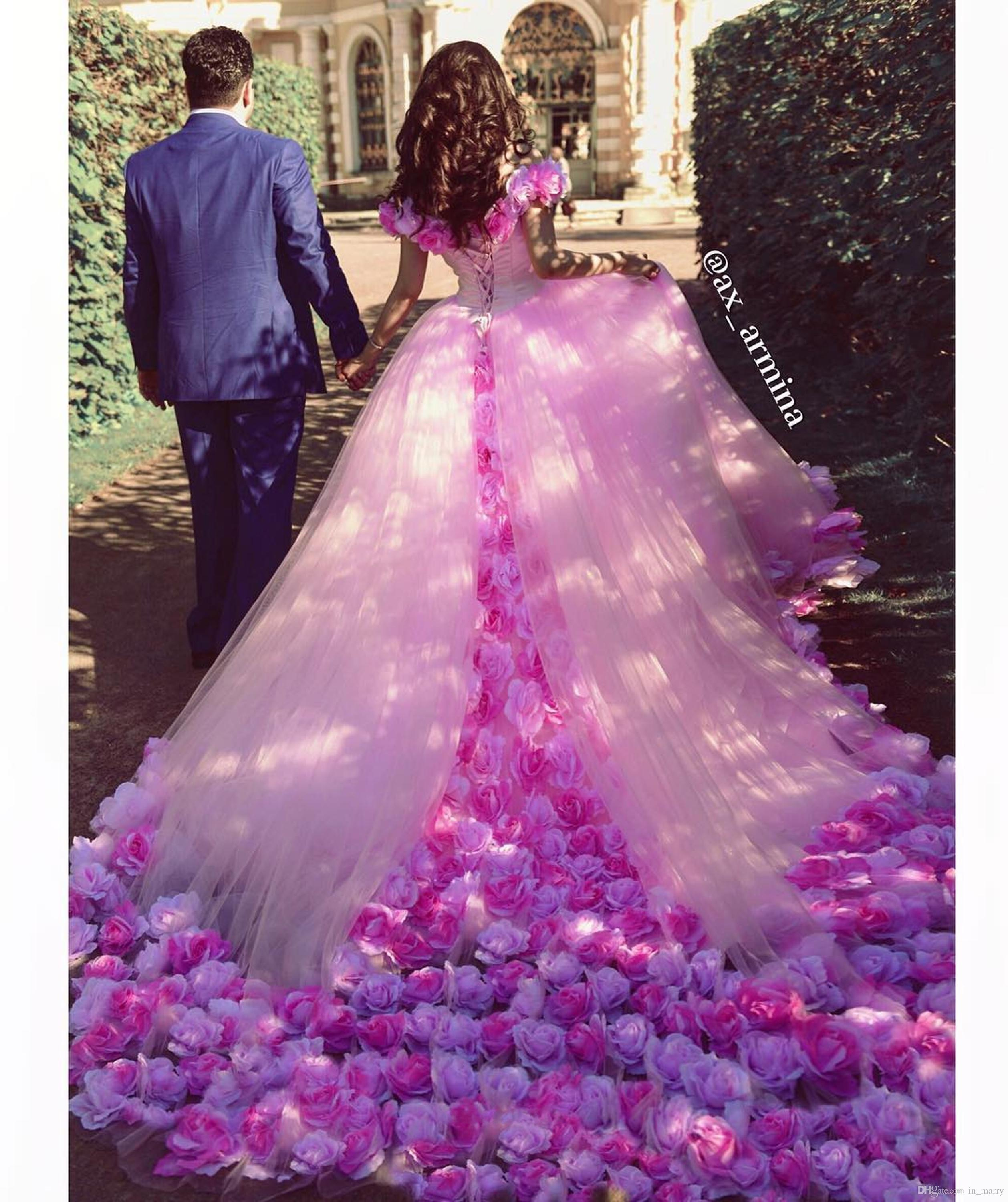 Luxury Pink Masquerade Sweet 16 Quinceanera Dresses 2017 Ball Gown ...