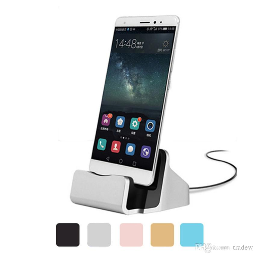 Dock Charger USB Sync Data Cable Docking Station Charging Desktop Cradle Stand For Android Type