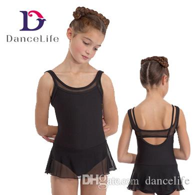 ea8bc904e Child New Ballet Dress C2155 Black Girls Mesh Skirt Dance Dress ...
