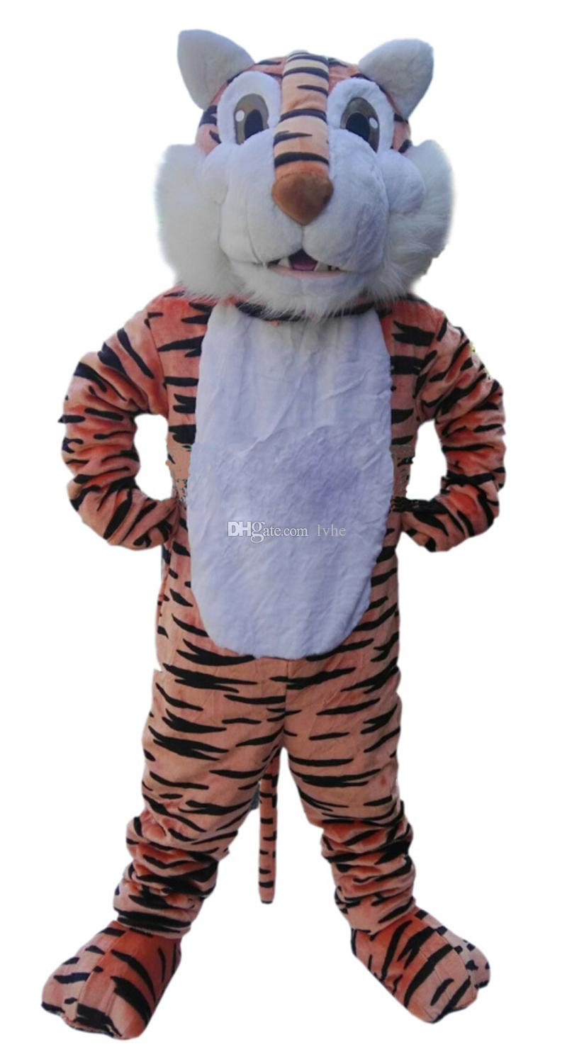 Tiger Mascot Costume Fancy Party Dress Halloween Carnivals Costumes With High Quality For Adult Customized Costumes Cheap Mascots From Lvhe $301.7| Dhgate.  sc 1 st  DHgate.com & Tiger Mascot Costume Fancy Party Dress Halloween Carnivals Costumes ...