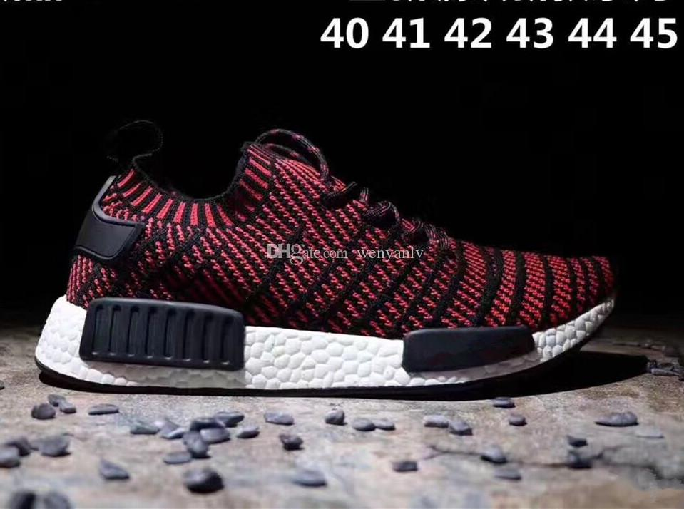 eac458ea0 2019 2017 New Arrival Kanye West Running Shoes For Men Summer Knitting PK XR1  Runner Sneakers Olive Green Wind Red Color Boots From Wenyanlv