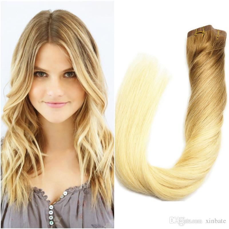 100gram Tape In Hair Extension 16inch To 24inch Ombre Human Hair