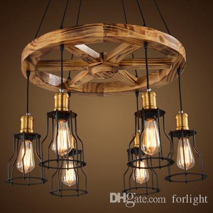 gro handel pendelleuchten kreative holz kronleuchter lampen personalisierte american industrial. Black Bedroom Furniture Sets. Home Design Ideas