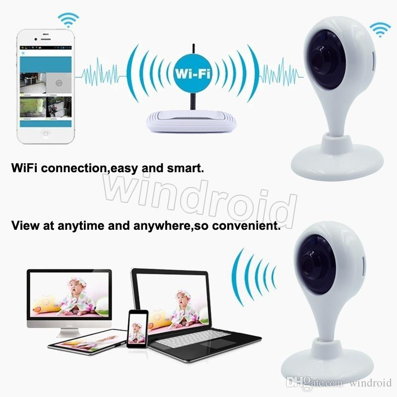 HD Mini Wifi IP Camera Wireless 720P Smart P2P Baby Monitor Network CCTV Security Camera surveillance camera Mobile Remote Cam