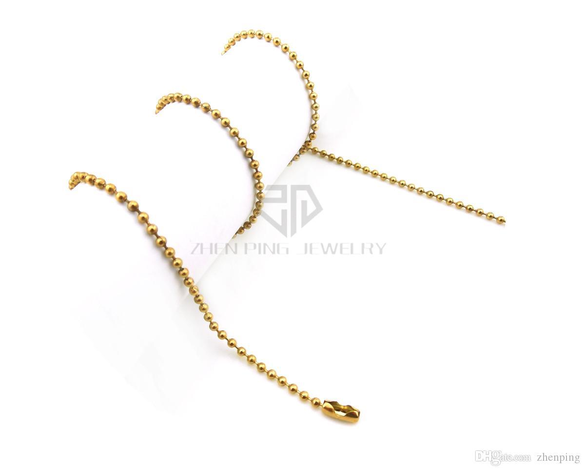 La catena della sfera d'argento di trasporto libero 14-24 pollici 36cm, 41cm, 51cm, 61cm può essere sceglie la catena della sfera dell'acciaio inossidabile