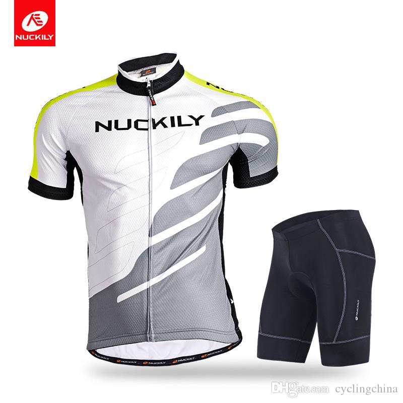 NUCKILY Men s Summer Cycling Wear Short Sleeve Jersey And Shorts Perfect Design  Bike Suits MG004 NS361 Perfect Design Bike Suits Men s Summer Cycling Wear  ... 705fca5ef
