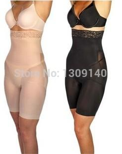 e68137e7a8505 Wholesale- Black Nude Women Body Shaper Slimming Pants Waist Trainer ...
