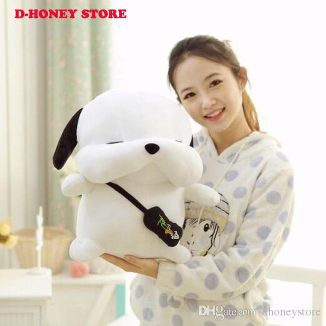 Nouvelle Mode Coréenne En Peluche Chien 20cm-30cm Amoureux Présente Creative Cottton Animal Doux Stray Chiens Jouets Pour Enfants Livraison Gratuite