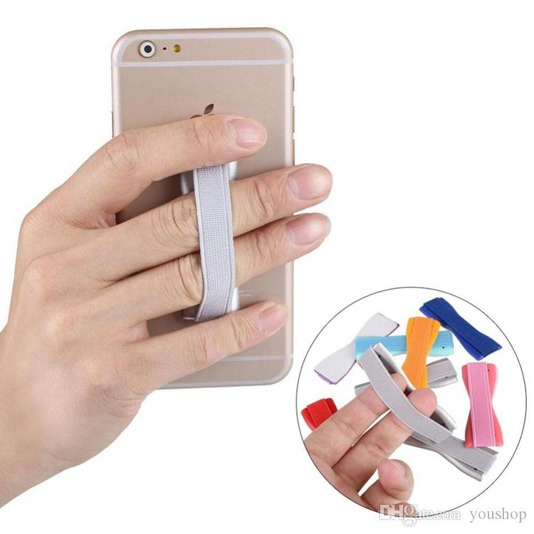 Mobile Phone Secure Grip Universal Anti-slip Handheld Finger Strap Ring Holder for iphone 7 / 7 Plus / 6S for ipad Air 2 / mini