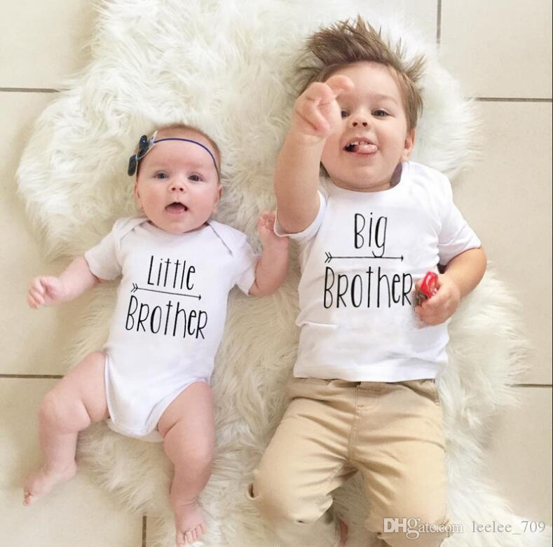 4bddaa949121 2019 Fashion Baby Girls Sisters Matching Outfits Big Sisters Floral ...