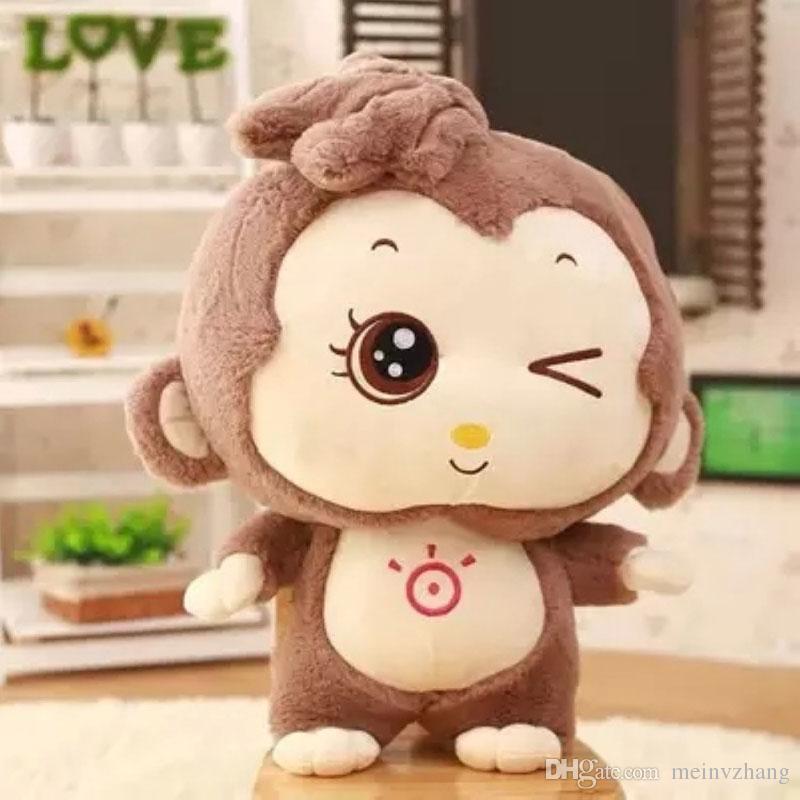 2019 Wholesale Cute Monkey Stuffed Animals Plush Toys New Years