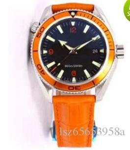 Luxury Watch Fashion watch Planet Ocean leather Mechanical Automatic Strap Watch Man Wristwatch B3119