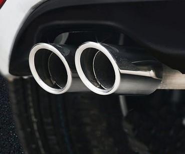 For VW Volkswagen Jetta MK6 1.4T Golf 6 Golf 7 MK7 1.4T Stainless steel Exhaust Muffler Tip Pipe Car Styling auto accessories